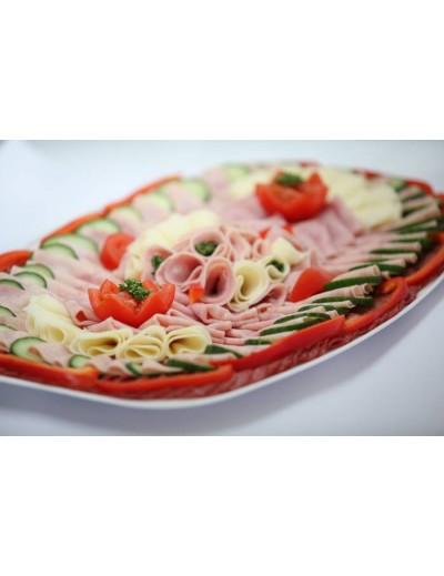 obložený talíř 500